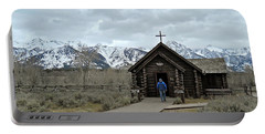 Tetons Chapel Of The Transfiguration Portable Battery Charger