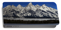 Tetons From Glacier View Overlook Portable Battery Charger