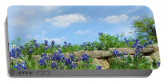 Texas Bluebonnets 08 Portable Battery Charger