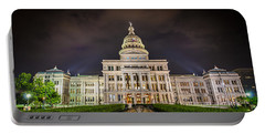 Texas Capitol Building Portable Battery Charger