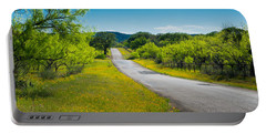 Texas Hill Country Road Portable Battery Charger
