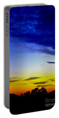 Texas Hill Country Sunset Portable Battery Charger