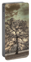 Texas Oak Tree Portable Battery Charger