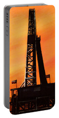Texas Oil Rig Portable Battery Charger