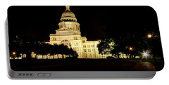 Texas State Capitol Portable Battery Charger by Dave Files