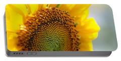 Texas Sunflower Portable Battery Charger by Debi Demetrion