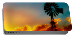 Texas Sunrise Portable Battery Charger