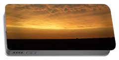 Texas Sunset Portable Battery Charger by Ed Sweeney