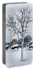 Portable Battery Charger featuring the photograph Heritage Grounds by Mae Wertz