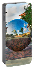 Portable Battery Charger featuring the photograph Tech World by Mae Wertz