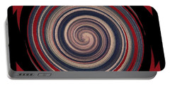 Portable Battery Charger featuring the digital art Textured Matt Finish by Catherine Lott