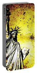 Textured Statue Of Liberty Portable Battery Charger