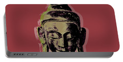 Thai Buddha #1 Portable Battery Charger by Jean luc Comperat