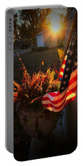 Portable Battery Charger featuring the photograph Thank You For Serving by Robert McCubbin