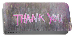 Thank You Portable Battery Charger