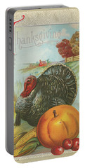 Thanksgiving Postcards I Portable Battery Charger