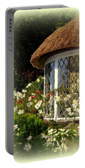 Thatched Cottage Window Portable Battery Charger