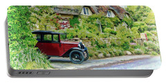 Thatched Cottages At Reybridge Portable Battery Charger