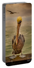 That's Mr. Pelican To You Portable Battery Charger by Steven Reed
