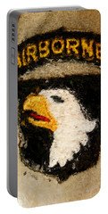 The 101st Airborne Emblem Painting Portable Battery Charger