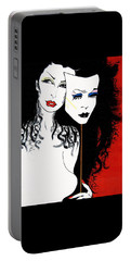 The 2 Face Girl Portable Battery Charger
