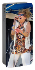 Portable Battery Charger featuring the photograph The Amazing Lydia Pense by Fiona Kennard