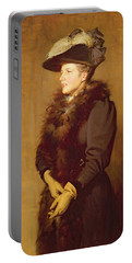 The Artists Wife, 1893 Portable Battery Charger by Robert Gibb