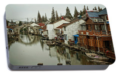 Portable Battery Charger featuring the photograph The Asian Venice  by Lucinda Walter