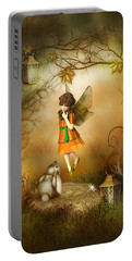 The Autumn Fairy Portable Battery Charger by Jayne Wilson