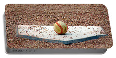 The Ball Of Field Of Dreams Portable Battery Charger