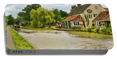 The Barge Inn Seend Portable Battery Charger