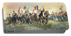 The Battle Of Austerlitz Portable Battery Charger