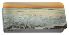 Portable Battery Charger featuring the photograph The Beach 1 by David Millenheft