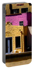 Portable Battery Charger featuring the photograph The Beach House by Jim Thompson
