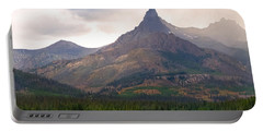 Portable Battery Charger featuring the photograph The Beartooth Mountains   by Lars Lentz