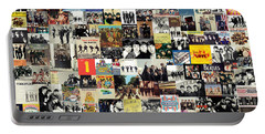 The Beatles Collage Portable Battery Charger