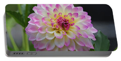 The Beautiful Dahlia Portable Battery Charger