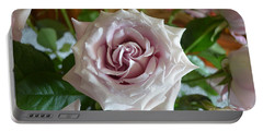 Portable Battery Charger featuring the photograph The Beauty Of A Flower by Jim Fitzpatrick
