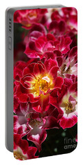 The Beauty Of Carpet Roses  Portable Battery Charger