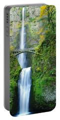 The Beauty Of Multnomah Falls Portable Battery Charger