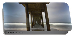 The Beauty Of Scripps Pier California Portable Battery Charger