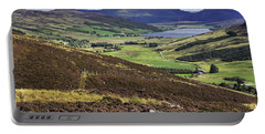 The Beauty Of The Scottish Highlands Portable Battery Charger by Jason Politte