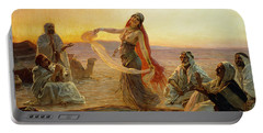 The Bedouin Dancer Portable Battery Charger