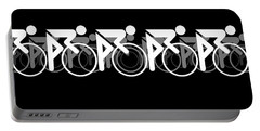 The Bicycle Race 2 Black Portable Battery Charger