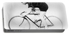 The Bicyclist - 1914 Portable Battery Charger