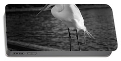 Portable Battery Charger featuring the photograph The Bird by Howard Salmon