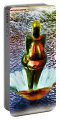 Portable Battery Charger featuring the digital art The Birth Of Vestonice Venus by Daniel Janda