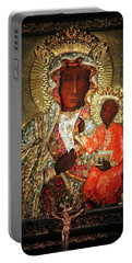 The Black Madonna Portable Battery Charger by Mariola Bitner
