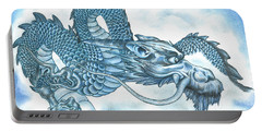 The Blue Dragon Portable Battery Charger by Troy Levesque