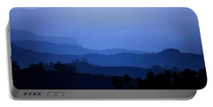 Portable Battery Charger featuring the photograph The Blue Hills by Matt Harang